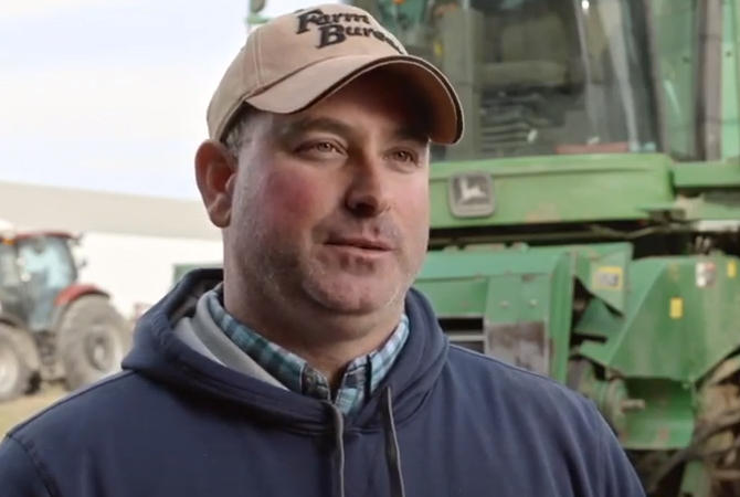 Grower, John Swanson, sits down to give his SUPERU testimonial
